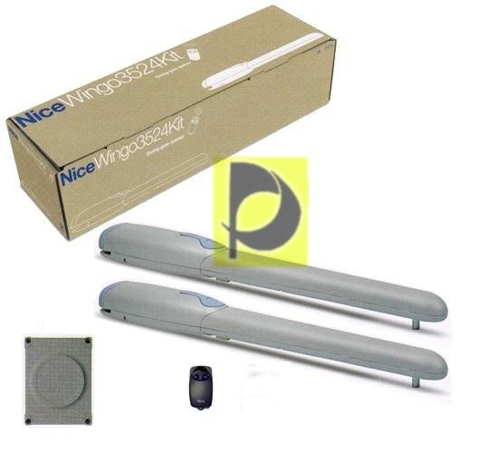 Kit Motores Puertas Abatibles Nice Wingo kit wg 5024